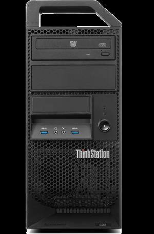 Lenovo ThinkStation E32 Tower Workstation: WORKSTATION PERFORMANCE—DESKTOP PRICING.