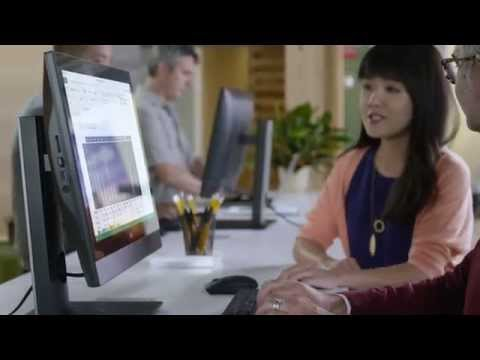 Dell OptiPlex™ 22 3000 Series All-in-One (3240) Desktop: The new look of productivity