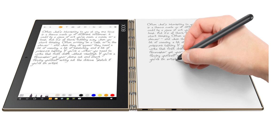 YOGA Book: 2-in-1-Tablet für mehr Produktivität: Das ultimative Tablet für mehr Kreativität von unterwegs