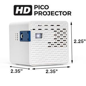 AAXA HD Pico LED Projector - The World's Smallest 720P LED Projector