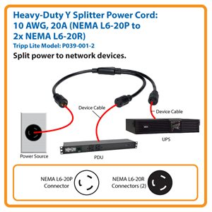 Power Two Heavy-Duty Devices from One Outlet