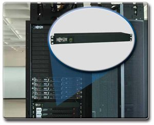PDU Metered 120V 20A 5-15/20R 12 Outlet L5-20P Horizontal 1URM