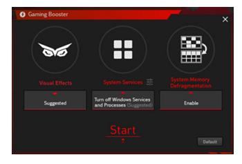 Gaming Booster: Mehr Performance mit einem Klick