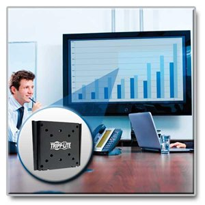 """Ideal For 13""""-27"""" Displays – This Fixed Wall Mount is Simple to Install & Guaranteed to Last!"""