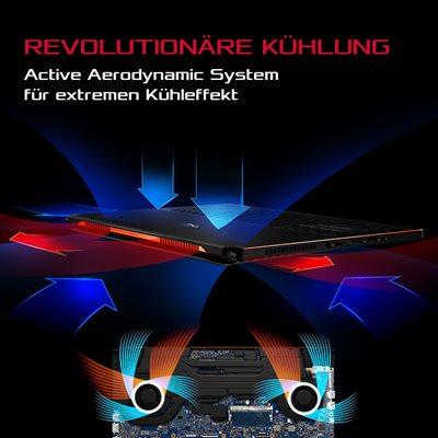 Active Aerodynamic System für extremen Kühleffekt
