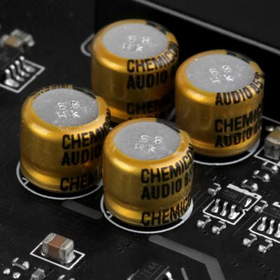 Chemi-Con Audio-Kapazitoren