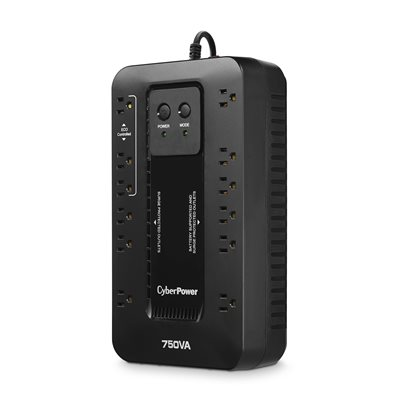 Efficient Battery Backup & Surge Protection