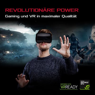 Gaming und VR in herausragender Qualität