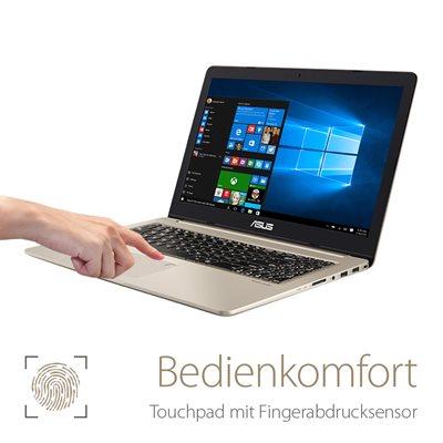 Integrierter Fingerabdruck-Sensor
