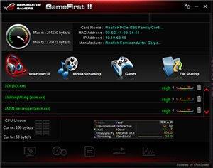 Intel® Gigabit LAN inkl. GameFirst - Den Gegnern immer einen Schritt voraus