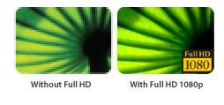 Full HD mit spektakulärer Bilddarstellung
