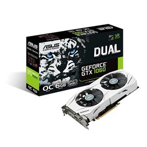 ASUS DUALGeForce® GTX1060 O6G