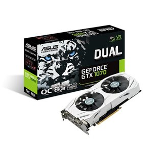 ASUS DUAL GeForce® GTX1070 O8G