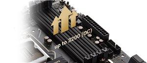 Erweiterte RAM-Übertaktungsmöglichkeiten