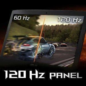 "Blitzschnelles 17,3"" 120Hz G-SYNC Display"