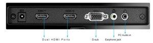 Zwei HDMI-Schnittstellen für vielfältige Anschlussmöglichkeiten