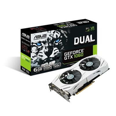 ASUS DUAL Ge Force® GTX1060 6G