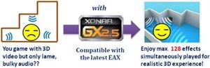 Unterstützt GX 2.5 für realistische 3D-Klangeffekte im Spiel