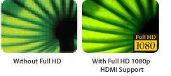 Full HD 1080p-Unterstützung