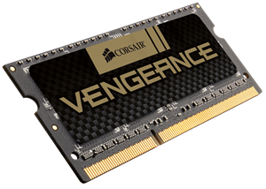 High-Performance Vengeance Memory for your Laptop