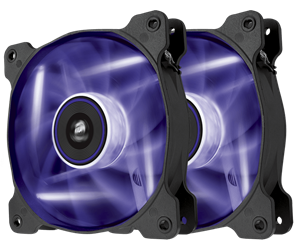 Superior cooling performance and LED illumination