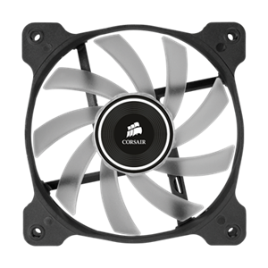 Better performance than standard case fans