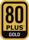 80 PLUS Gold-Zertifikat