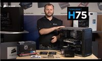 slide {0} of {1},zoom in, Installing the Corsair Hydro Series H75 Liquid CPU Cooler