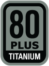 80 PLUS Titanium specification for ultra high efficiency
