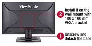 VA2249S High-Performance Monitor with SuperClear™ Technology