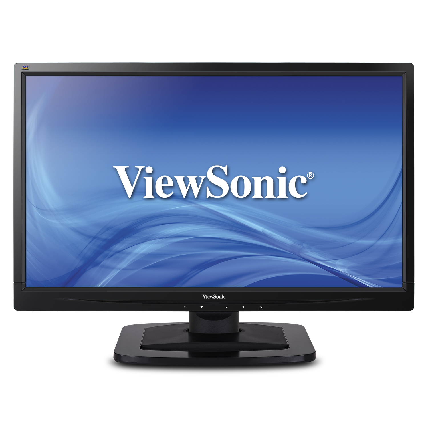slide 1 of 6,show larger image, va2249s high-performance monitor with superclear™ technology