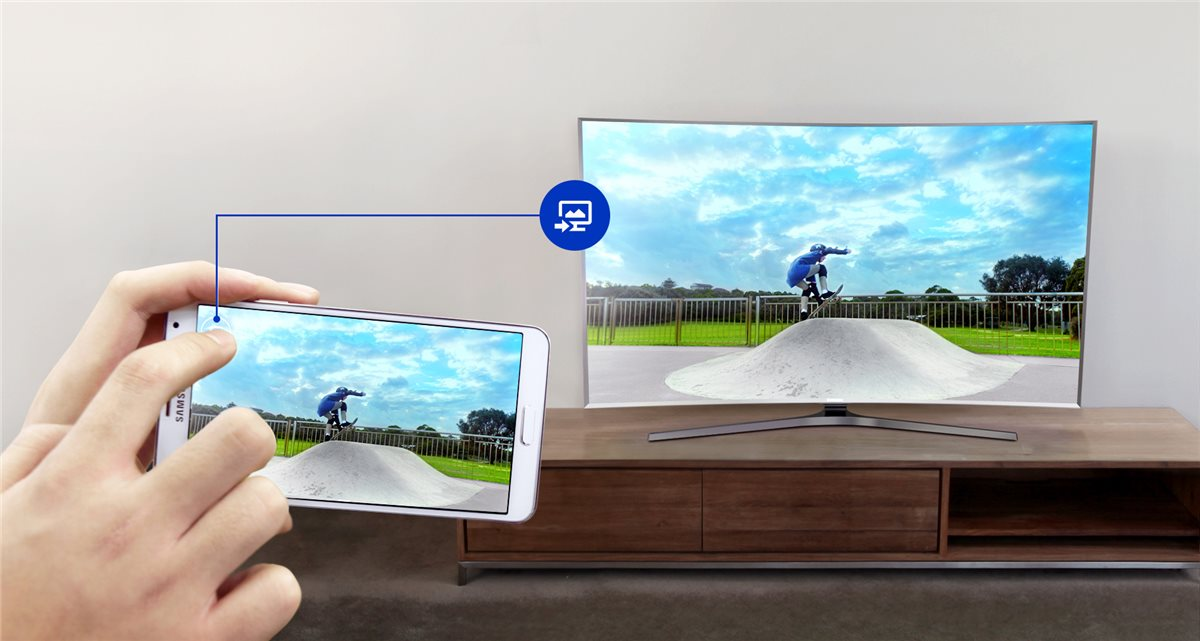 Samsung TV LED 55'', Incurvé, Full HD, Smart TV