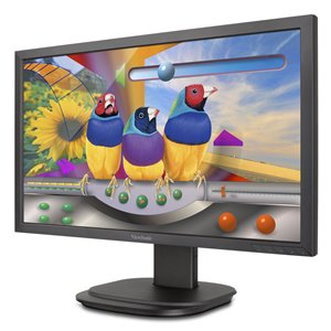 ViewSonic VG2439Smh: 24'' (23.6'' viewable) Full HD Ergonomic LED Monitor with Advanced Connectivity