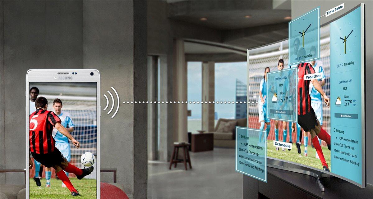 Samsung TV LED 48'', Incurvé, Full HD, Smart TV