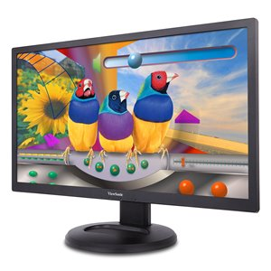 """ViewSonic VG2847Smh: 28"""" Full HD Ergonomic LED Monitor with Integrated Client Endpoint Mount"""