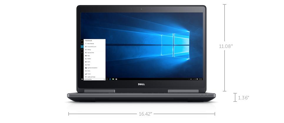 Dell Precision 17 série 7000 (7710): Une machine exceptionnelle pour les grands esprits.