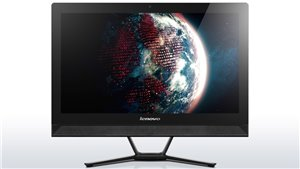 """Lenovo C40 All-in-One: AFFORDABLE 21.5"""" SPACE-SAVING AIO PC."""