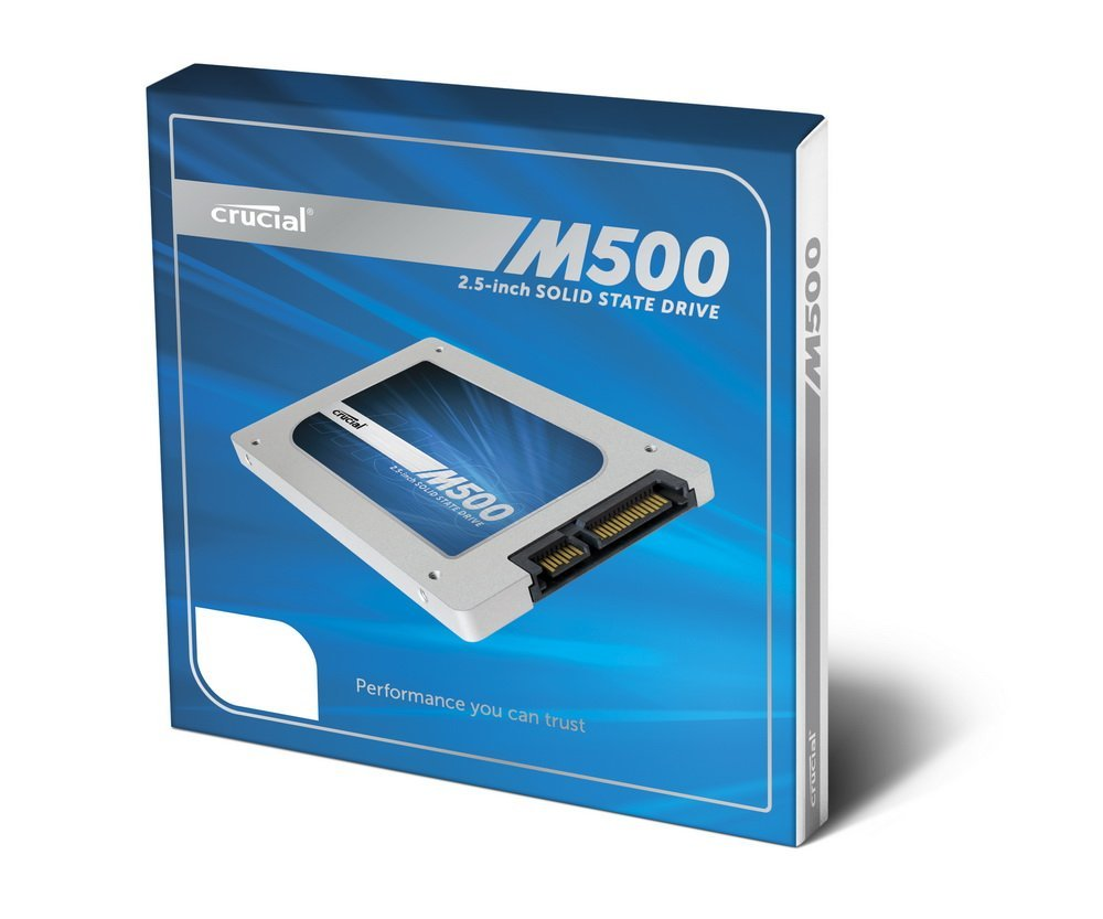 Crucial M500 960GB SATA 7mm with 9 5mm adapter spacer