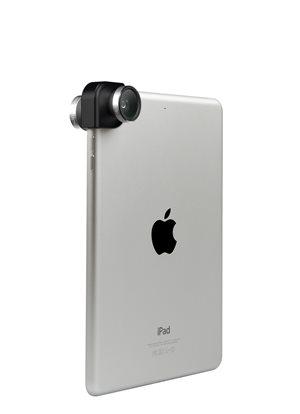 4IN1 Photo Lens for iPad Air, iPad Air 2, iPad Mini Retina, iPad Mini Silver/Black