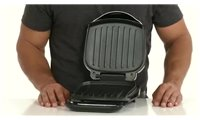 slide {0} of {1},show larger image, GR10B George Foreman 2-Serving Grill Product Features