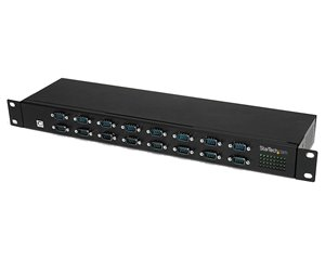 StarTech.com 16 Port Rackmount FTDI USB to Serial Adapter - Multiplexer