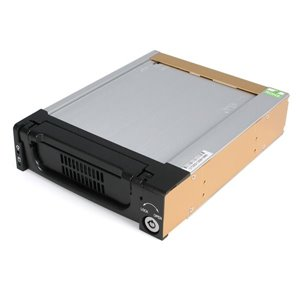 Turns any 3.5in SATA hard drive into a rugged, hot-swap storage solution for a 5.25in bay
