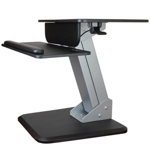 Turn your desk into a sit-stand workspace with easy height adjustment, for increased comfort and productivity