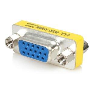 Convert a VGA male connector into a VGA female connector