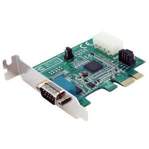 Add 1 high-speed serial RS-232 port to any PC with a PCI Express slot