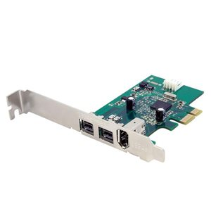 Add 2 native FireWire 800 ports to your computer through a PCI Express expansion slot