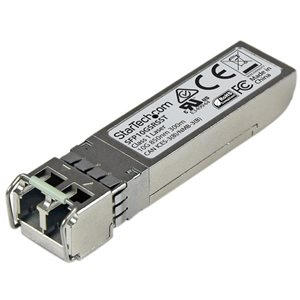 Add reliable and cost-effective 10 Gigabit Ethernet connections over multimode fiber with this SFP+ module