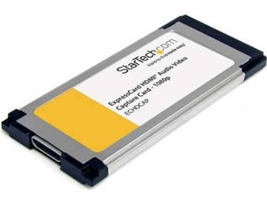 StarTech.com HDMI® to ExpressCard HD Video Capture Card Adapter 1080p