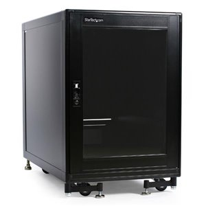 Store your servers, network and telecommunications equipment securely in this 15U solid steel rack
