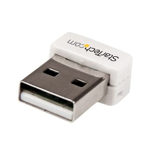Add high-speed Wireless-N connectivity to a desktop or laptop system through USB